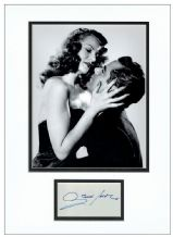 Glenn Ford Autograph Signed Display - Gilda